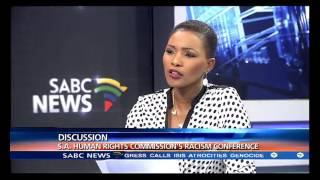 SA Human Rights Commission's racism conference: Tumaole Mohlaoli