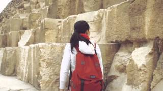 preview picture of video '旅する鈴木535:Excite wife in GIZA@Egypt'