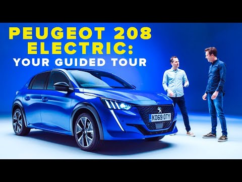 Peugeot e-208 review: the same, but electric