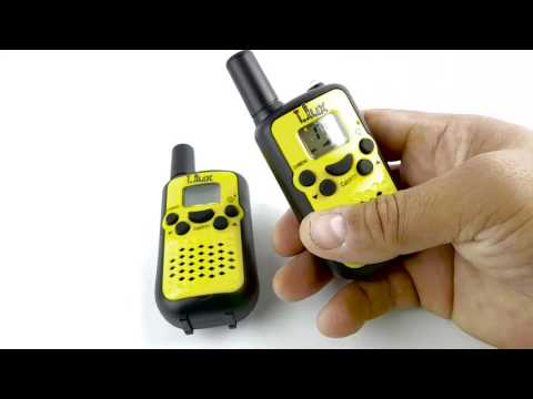 Review and How To of Kids Walkie Talkies,Durable Wireless Interphone 22 Channel