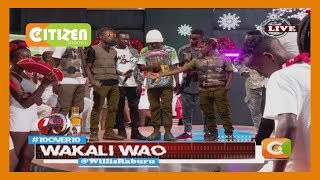 Gengetone masters Wakali Wao show their credentials