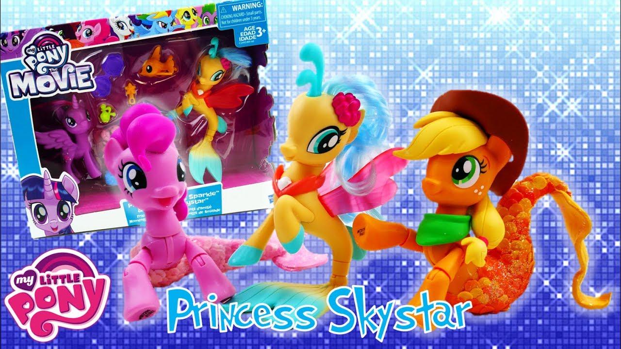 My Little Pony The Movie 2017 Princess Skystar and Princess Twilight Sparkle