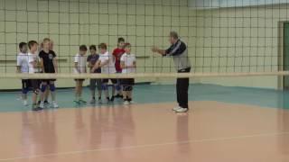 Обучение волейболу детей. Полная версия