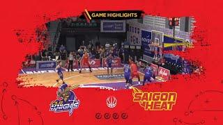 Highlights ABL9 || Away - Game 24: CLS Knights vs Saigon Heat 13/03