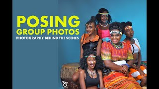 PHOTOGRAPHY: Group Photo Poses In Studio Behind The Scenes
