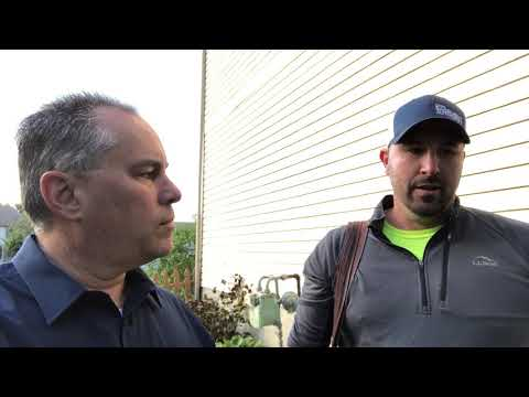 Andy Wirt with the Raines Group HER Realtors talks with Ohio Basement Authority Inspector David Wirtz about...