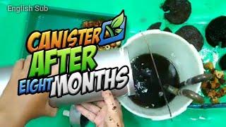 Update Canister Diy Setelah 8 Bulan | Pembersihan Media