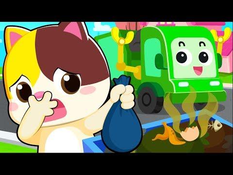 garbage truck song clean up trash song nursery rhymes kids s