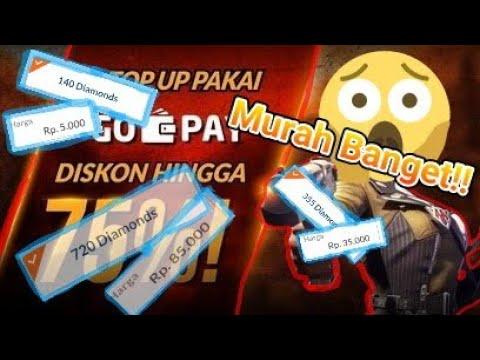 "Murah banget!! Promo diamond free fire ""Codashop""😍"