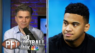 Fill In The Blank: When Will Tua Tagovailoa Start For Dolphins? | Pro Football Talk | NBC Sports