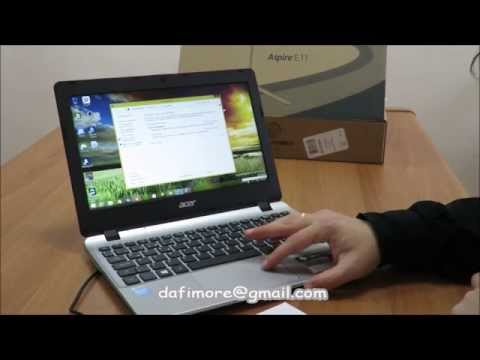 Unboxing Acer Aspire E3 - E112 (Marcus Miller - Cousin John)