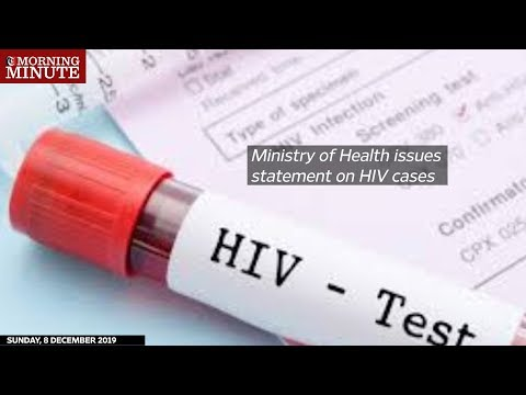 Ministry of Health issues statement on HIV cases