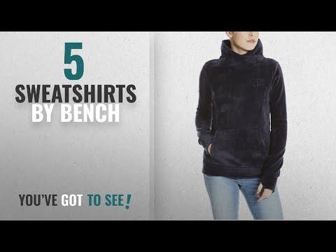 Top 10 Bench Sweatshirts [2018]: Bench Women's Her. Overhead Fleece Funnel Sweatshirt