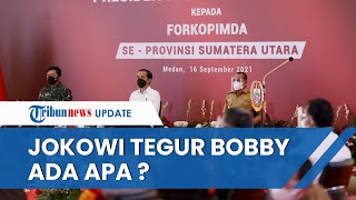 Jokowi Tegur Menantunya Bobby Nasution soal APBD Medan yang Mengendap di Bank hingga Rp1,8 T