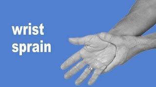 HOW TO HEAL WRIST SPRAIN