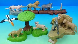 2019 Disney's The Lion King set of 10 McDonalds Happy Meal Movie Toys Video Review
