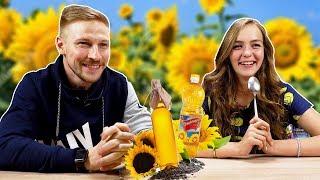 Самые калорийные продукты / Костя Павлов и Маша Маева пьют масло