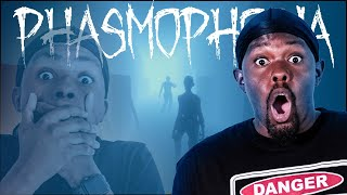 My Little Brother Got Killed By A Ghost! (Phasmophobia)