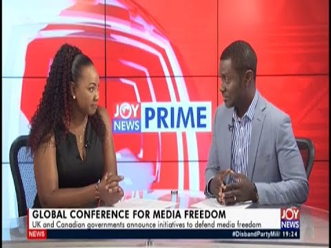 Global Conference for Media Freedom – Joy News Prime (15-7-19)