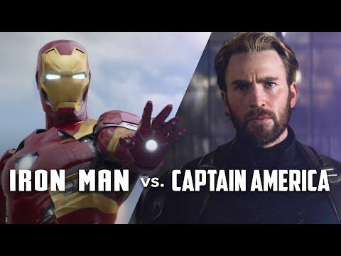 Iron Man vs. Kapitán Amerika – 11 let vývoje postav