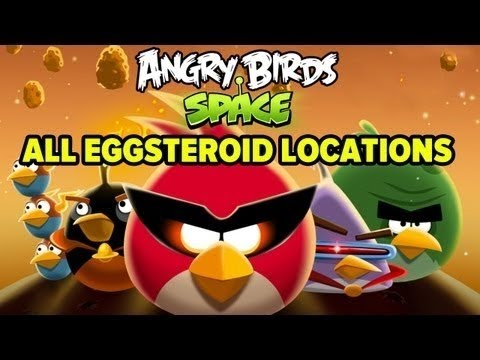 Angry Birds Space - All Eggsteroid Locations Mp3