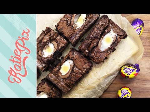 Creme Egg Brownies Recipe | Easter Special | Katie Pix