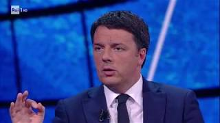 Matteo Renzi a Che tempo che fa