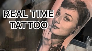 REAL TIME TATTOO - Portrait