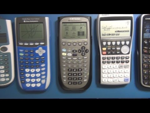 CAM #0 – Graphing Calculator Review / Buyers Guide / Comparison Part 1 – General Calculation