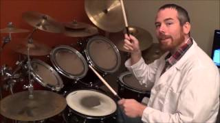 """How to Play Nirvana's """"Smells Like Teen Spirit"""" on Drums"""