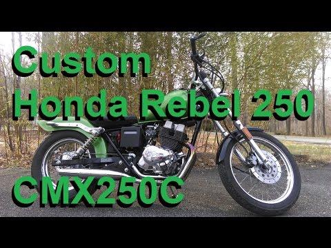 Project Motorcycle: Custom 1986 Honda Rebel 250 (CMX250C)