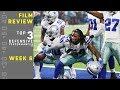 Top 3 Defensive Performances of Week 6 | NFL Film Review