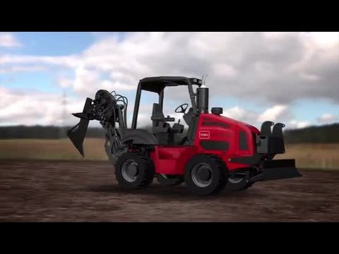 Toro RT1200 Vibratory Plow Animation