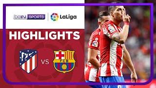 Atletico Madrid 2-0 Barcelona Pekan 8
