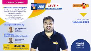 Mission JEE Get Ahead in Chemistry with Extramarks JEE Crash Course
