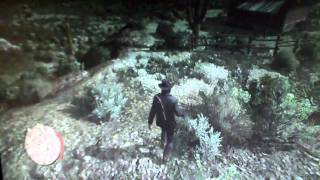 Red Dead Redemption - Hunting Jackalope the EASY way