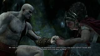 God of War - The Oracle Alatheia Tells Kratos The Truth