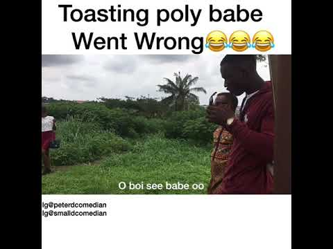 Toasting poly babe went wrong 😂😂😂