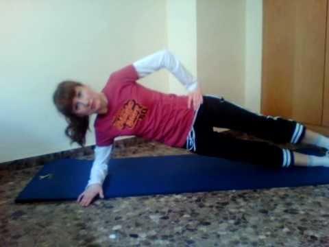 ejercicios en casa abdomen y cintura