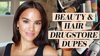 Drugstore Dupes For Luxury Hair & Makeup   Dacey Cash