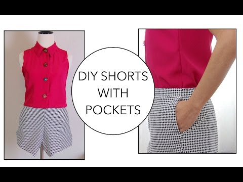 Download How To Sew A Pair Of Shorts With Pockets HD Mp4 3GP Video and MP3