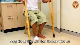 Giáp áp lực bàn chân để điều trị loét do đái tháo đường