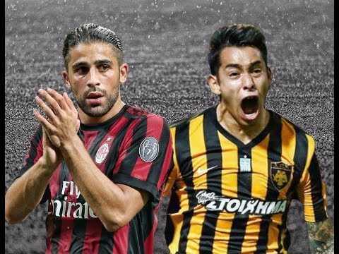 AEK Athens vs AC Milan Highlights  -  UEFA Europa League  2017/2018