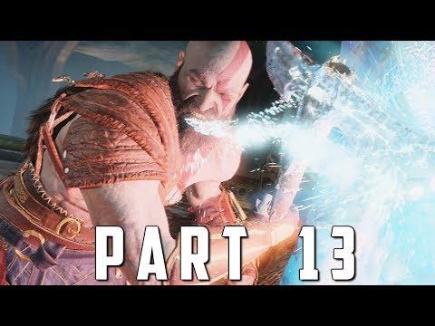 GOD OF WAR Walkthrough Gameplay Part 13 - DARK ELVES (God of War 4)