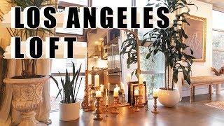LOS ANGELES APARTMENT TOUR | INDUSTRIAL LOFT
