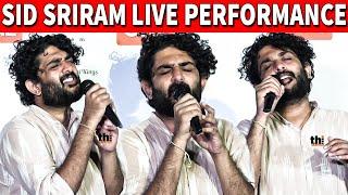 Sid Sriram Live Performance | Sid sriram live singing Maruvarthai Song | All Love No Hate