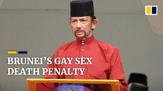 Brunei's gay sex death penalty
