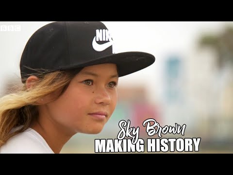 Let's Make Olympic History | Sky Brown 11 year old skater