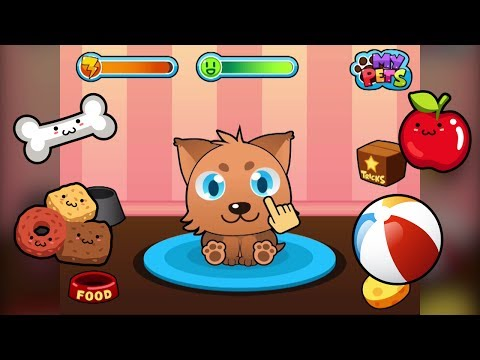 Video of My Virtual Pet - Cats and Dogs