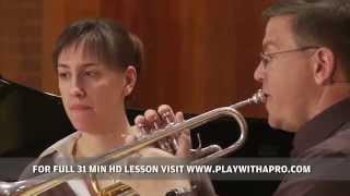 Trumpet Lessons With David Bilger, Honegger Intrada For Trumpet,